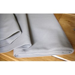 Heavy weight fabric - grey - 100% cotton