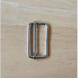 metal slider  -18mm - silver