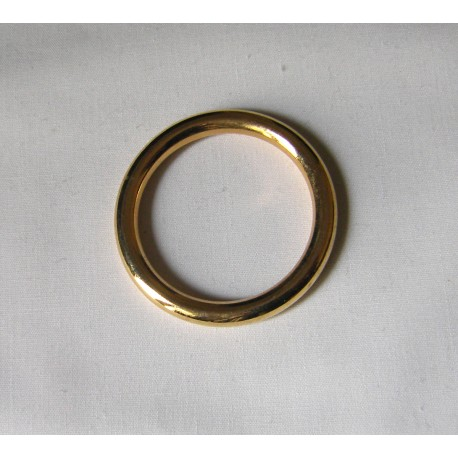Gold Metal  ring - 35mm