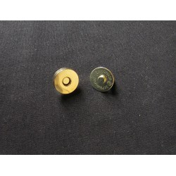 metal magnetic clasp - 19mm - gold