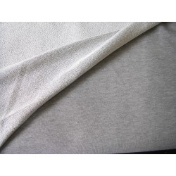 Sweatshirt jersey fabric - blend  grey 100% cotton