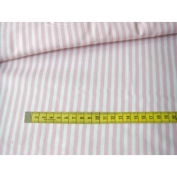 pink&white stripes 5mm/5mm