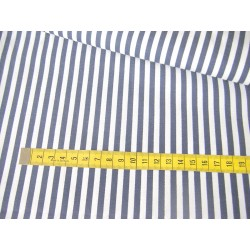 navy&white stripes 5mm/5mm