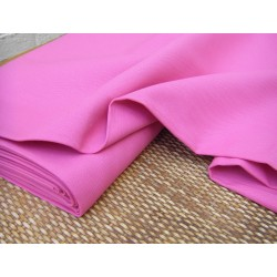 Heavy weight panama fabric - fuchsia - 100% cotton