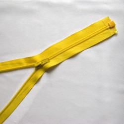 plastic coil zip - warm beige - length from 30cm to 70cm
