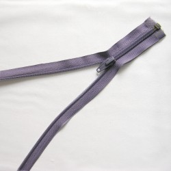 plastic coil zip - violet purple - length from 30cm to 70cm