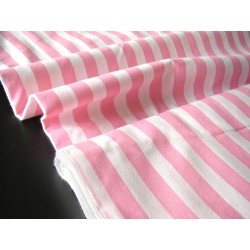 pink&white stripes 15mm/15mm