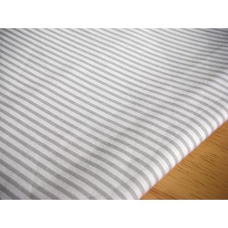grey&white stripes 3mm/3mm