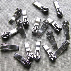 zip slider-coil size 7 - metal gun