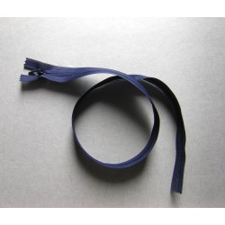invisible zip -  navy - length from 22cm to 60cm