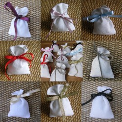 Small Gift bags - cream