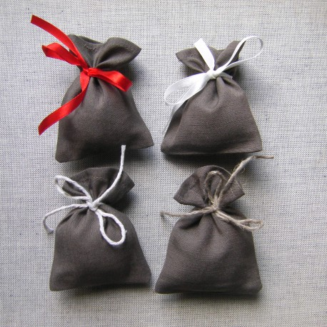 Small Gift bags - Light brown