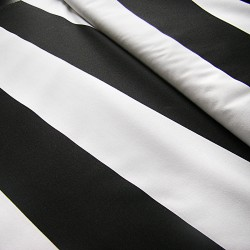 Heavy weight fabric -  wide stripes 95/105mm - 100% cotton