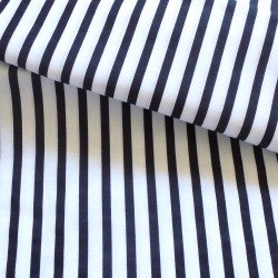 Black&white stripes 6mm/10mm