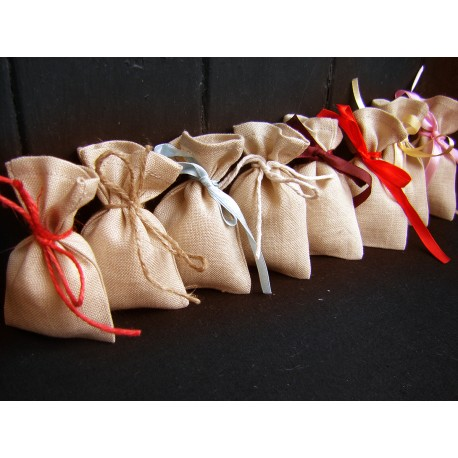Small Gift bags -  beige 8/11cm