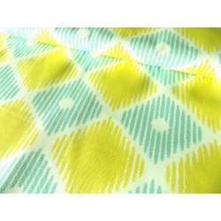 Heavy weight fabric - Ikat Style Fabric - cotton