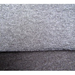 cotton jersey fabric - dark grey