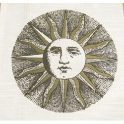 Ready Fabric Panel - Fornasetti Sun