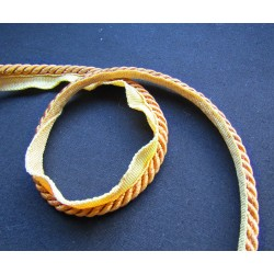 Upholstery piping cord 6mm  - dark gold