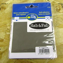 Nylon Repair Patch - self-adhesive - 1 grey