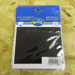 Nylon Repair Patch - self-adhesive - 3 black