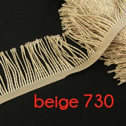bullion fringe - white - pearl 001 - 80mm
