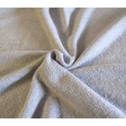 Elasthic -Terry Toweling Fabric - light gray