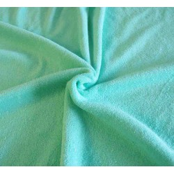 Flexible Terry Toweling Fabric - mint green