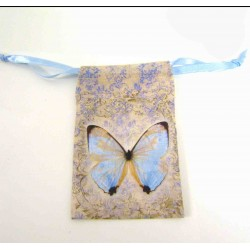 Small Decorative Shabby Chic Print - Butterfly