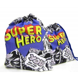 Travel Laundry Bag - SuperHero