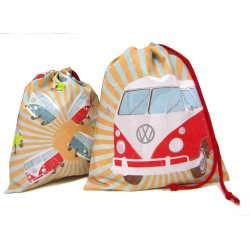 Travel Laundry Bag - Volkswagen Camper T1