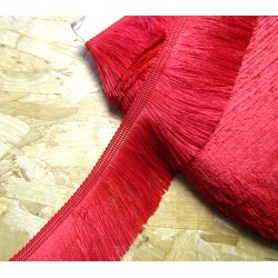 silky cut fringe - light red - 60mm