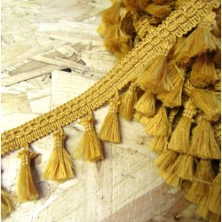 Tassels trim - gold