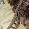 Tassels trim - light brown