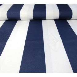 Outdoor waterproof fabric - navy blue