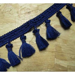 Tassels trim - navy 524