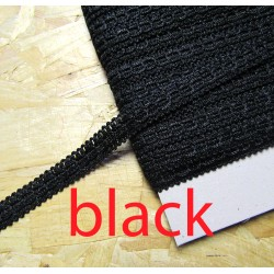 Gimp trim 15mm - black