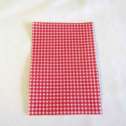Iron-on  repair fabric - stawberries&dots