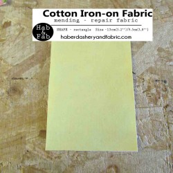 Iron-on  repair fabric - fuchsia