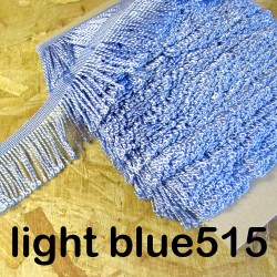 bulion fringe - light blue 515  - 60mm wide