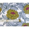 Waterproof fabric -  English Flowers Honey