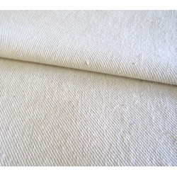 Heavy weight drill fabric  - raw, natural color