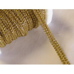 Scroll trim - brocade gold