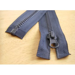 chunky zip - open end - navy - 45cm