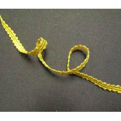 Gold brocade  trim 8 mm