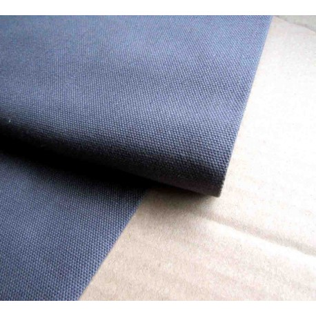 Heavy weight fabric - dark  grey - 100% cotton