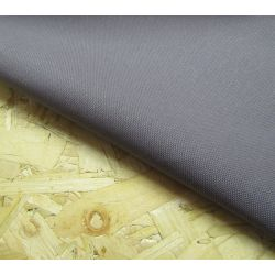 Heavy weight panama fabric - dark  grey