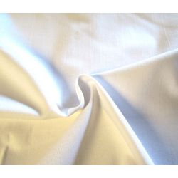 White cotton canvas - 145gsm