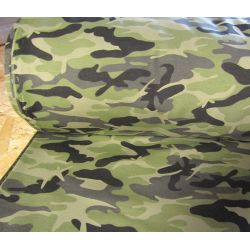 Camouflage classic green - Sweatshirt jersey fabric