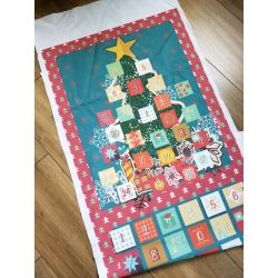 Advent Calendar DIY Ready Printed Panel - Christmas Tree